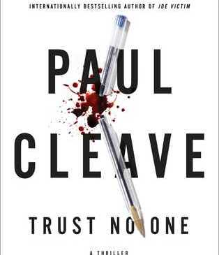 paul cleave trust no one