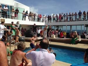 crossing the equator ceremony brazil cruise