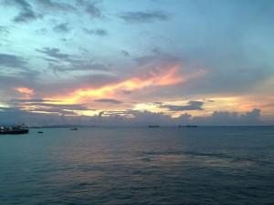 sunset brazil