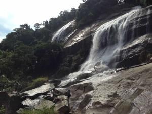 waterfalls in Ilhabela brazil