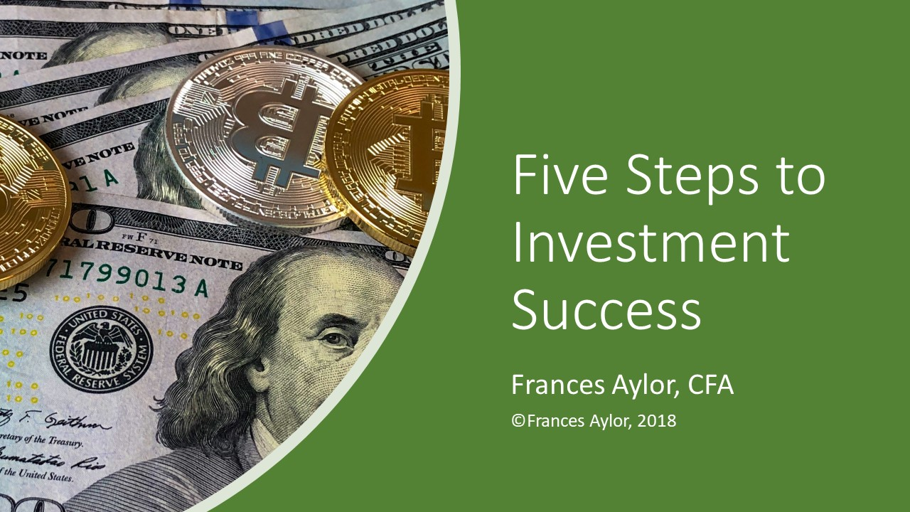 Five Steps to Investment Success pg 1
